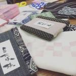 内藤畳店にて「和」を彫る